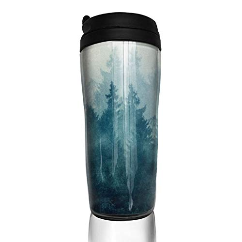 The Heart Of My Heart Abs Travel Coffee Mugs With Quickseal Lid Insulated 12 Oz Double Wall Water Coffee Cup