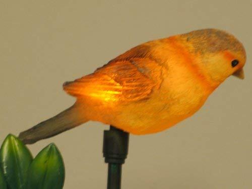 """Solarleuchte\""""Vogel\"""" Solar-Gartenleuchte Solar-Vogel-Figur-Stick Solar-Balkon-Blumentopf-Blumenbeet-Terrassen-Wege-Leuchte"""