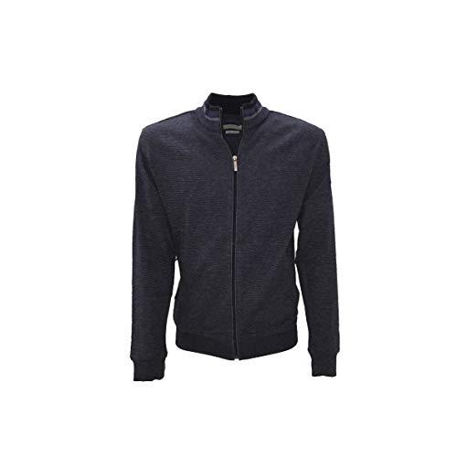 BUGATTI Cardigan Full Zip A-I Art.45040, Blau XXXXL