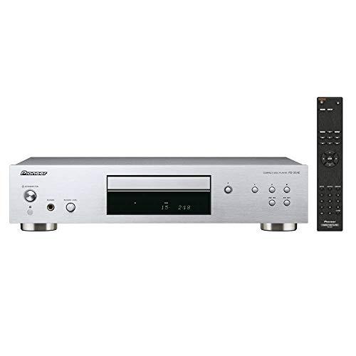 Pioneer PD-30AE(S) Pure-Audio-CD-Player (Silent-Drive-Laufwerk, Precision Clock, D/A-Wandler-Funktion und regelbarem Kopfhörerausgang) Silber