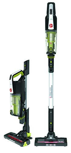 HOOVER Akku-Hand- und Stielstaubsauger H-FREE 500 Compact Connected Power, HF522NPW mit smarter WiFi-Vernetzung, selbststehend, kompakt verstaubar, 22 Volt bis zu 40 Min. Laufzeit, Zubehör an Bord