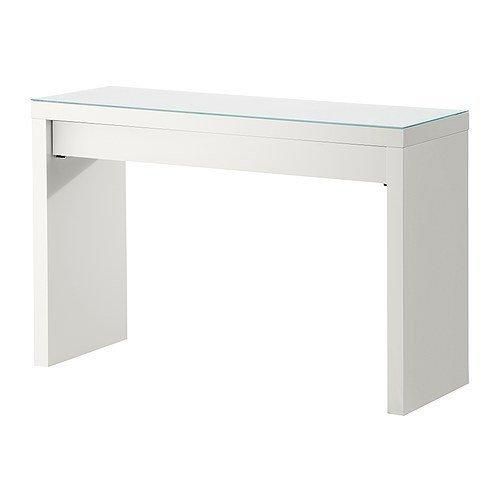 IKEA MALM -Schminktisch weiß - 120x41 cm