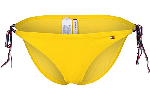 Braguita de bikini amarillo de Tommy Hilfiger.