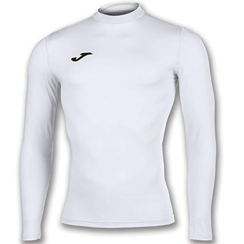 Joma Academy - Maglietta Termica, da Uomo, Colore: Bianco, S-M