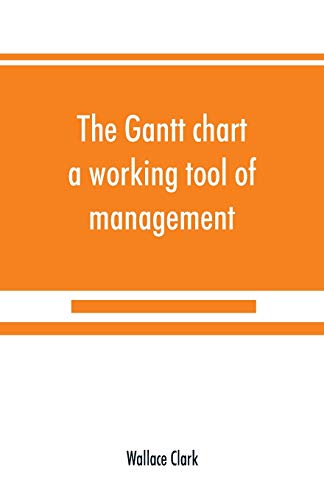 The Gantt chart, a working tool of management