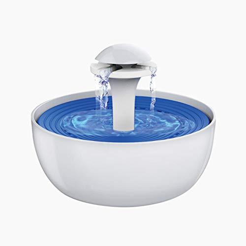 Ab Pet Hair Dryer Distributeur d'eau de Chien de Fontaine de, 3L Super Silencieux Automatique Bol d'eau électrique avec Les Oiseaux et Les Petits Animaux
