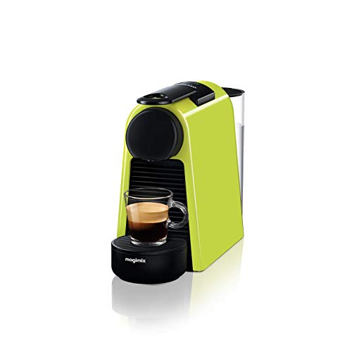 Magimix – Nespresso Essenza Mini 11367 Cafetière à Capsules, Vert
