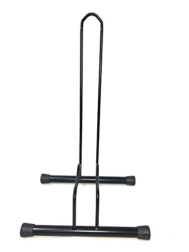 ANDRYS – Porta Biciclette da Terra, 1 Posto, per Ruote di 6cm, Acciaio Verniciato Semi Lucido, da Esterni e Interni