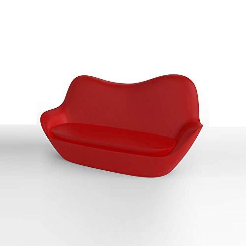 Vondom sabinas canapé pour extérieur Rouge
