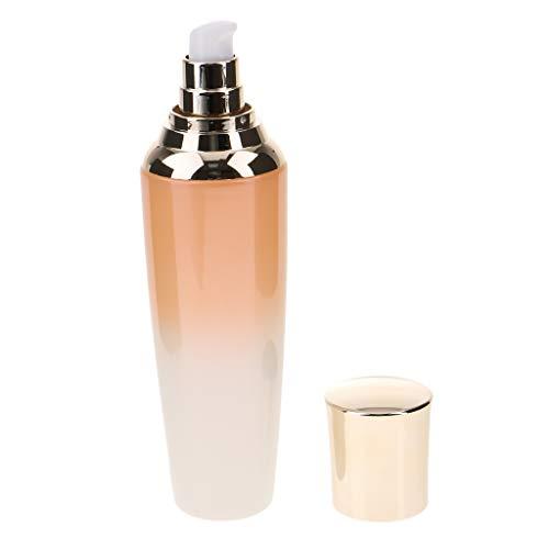 Premium Kosmetik Pumpspender Cremespender Sprühflasche, Lotion und Gelspender, Leer zum Nachfüllen - 120ML