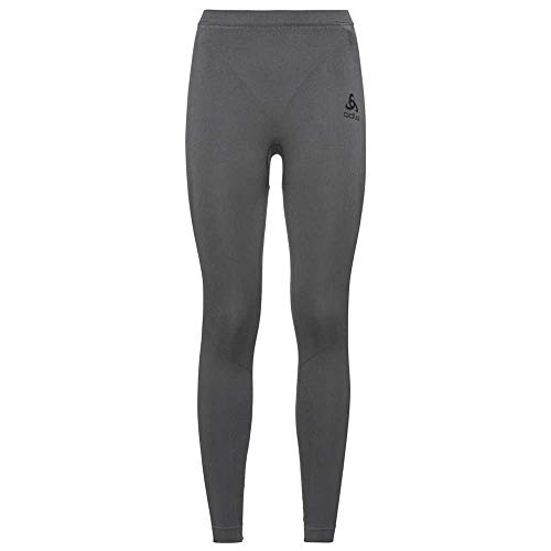 Odlo Performance Evolution Warm Leggings, Gris Acier Graphite, XL Femme