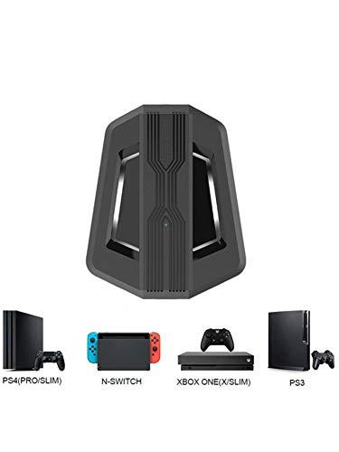 Adminitto88 Convertisseur De Clavier Et De Souris pour Console De Jeu Compatible avec Les Convertisseurs De Conversion Hôte PS4 / Xbox One / PS3 / Xbox 360 Adaptateur Clavier Et Souris Gaming