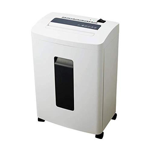 Nologo Xiaoxiao Paper Shredder, File Shredder, High Power Shredder, Silent-Shredder, Überhitzung, Automatische Abschaltung Schutz papierschredder (Size : 33x22.5x49cm)
