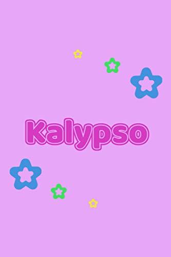 Kalypso: Personalisiertes Vornamen Tagebuch für Frauen und Mädchen - Notizbuch, Notizheft oder Schreibheft für Schule, Uni, Beruf, Job oder ... Seiten - Punkteraster - Format 6x9 ca. DIN A5