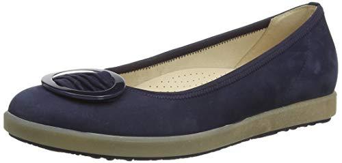 Gabor Shoes Comfort Sport, Ballerines Femme, Bleu (Blue 36), 37 EU