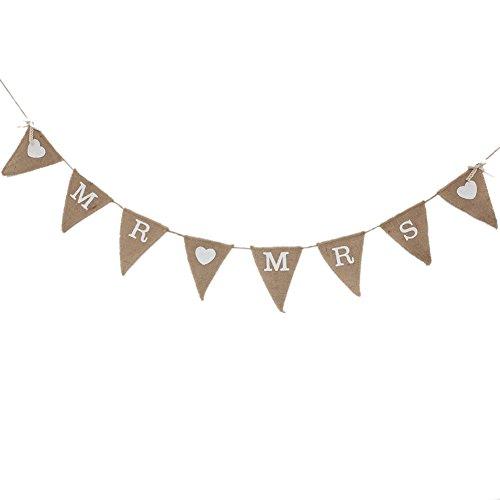 Bannière Banderole Papier Fête Anniversaire Mariage Parti Déco Mots\