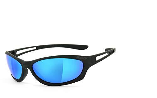 HELLY® - No.1 Bikereyes®   Bikerbrille, Motorrad Sonnenbrille, Motorradbrille   beschlagfrei, winddicht, bruchsicher   TOP Tragegefühl   Brille: flyer bar 3