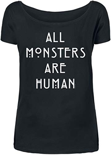 American Horror Story All Monsters Are Human Frauen T-Shirt schwarz S