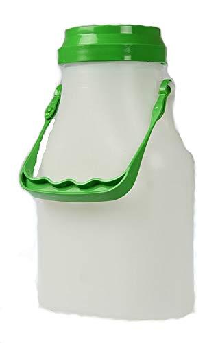 Gelle Gewa Milchkanne 2,0 Liter aus Kunststoff mit Schraubdeckel, für den Kühlschrank