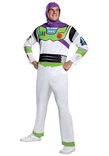 Disney Toy Story Adult Buzz Lightyear Classic Costume X-Large