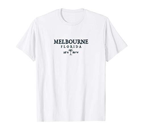 Regalo de Melbourne Florida Palm Tree Surf Beach Camiseta