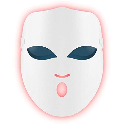 REAKOO LED Light Therapy Mask Maschera Per Fototerapia...