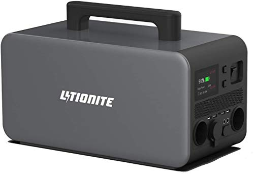 Litionite Hangar 1000W / 336.000mAh Generador de energía portátil eléctrico - 2x...