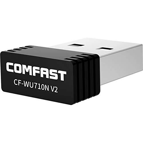 Lsooyys Adaptador inalámbrico de Wifi USB, Mini USB Wifi, Dual Band 2.4 Ghz adaptador inalámbrico para PC, escritorio y portátil, compatible con Windows, Mac Os