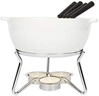 BOSKA 853548 Party Cheese Fondue Set, 750ml, White