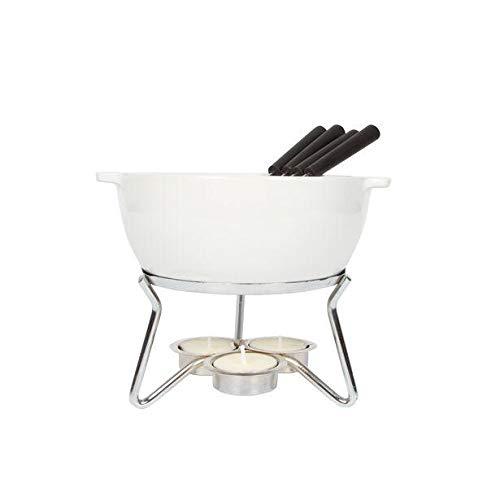 Boska Käsefondue-Set Party/Im Ofen, in der Mikrowelle oder mit Teelicht zu erhitzen/Keramik