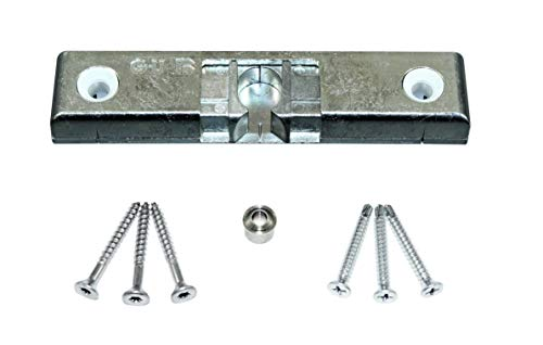 GU Türschnäpper/Balkontürschnäpper/Fensterschnäpper 6-33692/4663 (K-17229-00-0-1) inclusive Rollzapfen & SN-TEC Montagematerial