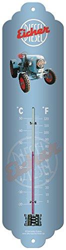 Blechthermometer Blechschild Eicher Diesel