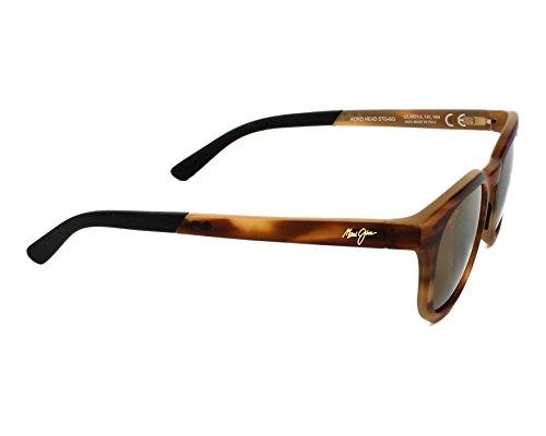 Maui Jim - Gafas de sol polarizadas Koko Head, unisex, grado 3 Polaris 2, ramas Flex