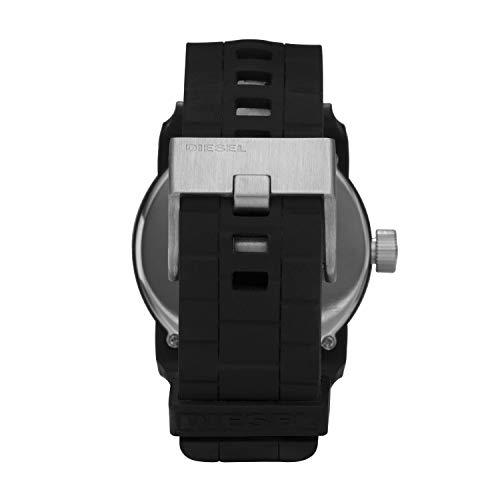 Diesel Homme Analogique Quartz Montre avec Bracelet en Silicone DZ1437