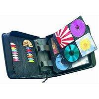 Case Logic CD/DVD Wallet Aufbewahrungstasche für 336 CDs/DVDs (oder 160 inkl. Booklet) schwarz