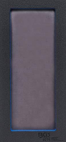 BGS 9275 | Werkstattwageneinlage 1/3: Ablagefach mit magnetischer Bodenplatte | 129 x 348 x 14 mm