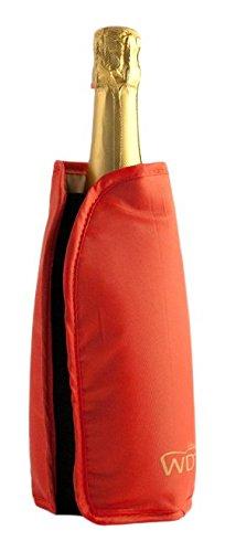 WD Lifestyle Glacette Morbida, Silicone, Rosso, 15x2x17 cm