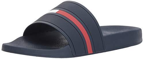 Tommy Hilfiger Men's Ennis Slide Sandal, Dark Blue, 9
