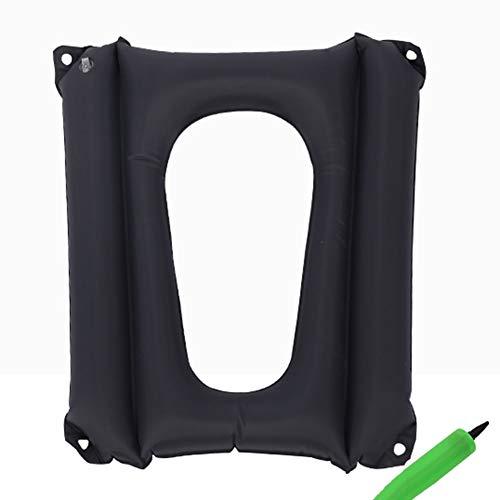 SXFYGYQ Anti-Dekubitus aufblasbares Kissen Vier Ecken können fixiert Toilettensitz-Washer kann Hüftdruck reduzieren