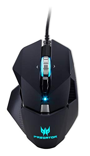 Acer Predator Cestus 510 RGB Gaming Mouse – Dual Omron Switches, Customizable, Macro Keys, On Board Memory and Programmable Buttons