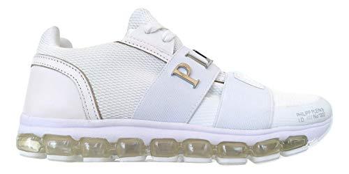 Philips Plein P19SMSC2017PTE003N - Zapatillas deportivas para hombre, color blanco
