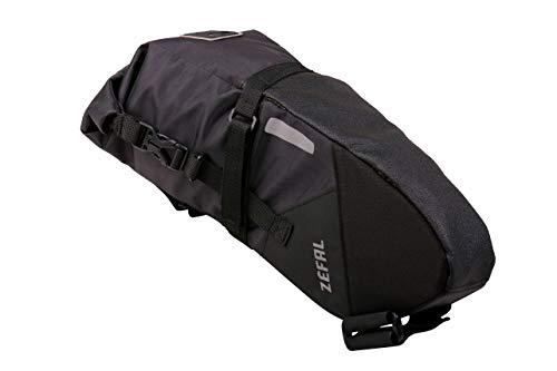 Zefal Z-Adventure Bolsa de sillín, Unisex, Negro, 5 L