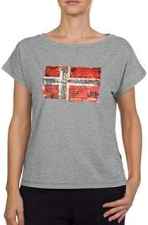Seithem W Med Grey Mel Camiseta para Mujer