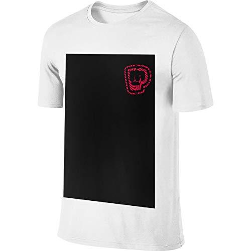 Pewdiepie Merch Jugend Männer T-Shirt Golf Poloshirts Kurzarm S-6xl Casual Fitness Shirts Rundhalsausschnitt Baumwolle Sport Top 4XL