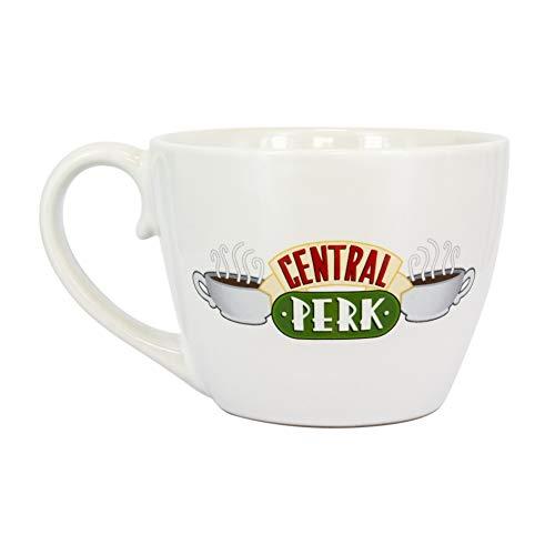 Paladone PP5612FR Friends Central Perk-Taza de café de cerámica, diseño de cappuccino, Amigos