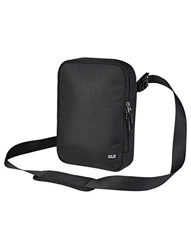 Jack Wolfskin Unisex_Adult Gadgetary Satchel Bag, Black, One Size