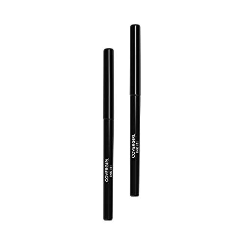 COVERGIRL Ink It! By Perfect Point Plus Waterproof Eyeliner, Black, 2 Count