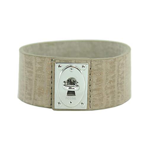 Fossil Damen Leder Armband JF00238040 Leder braungold
