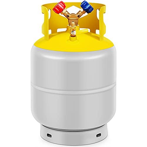 30 LB Capacity Refrigerant Recovery Tank with...