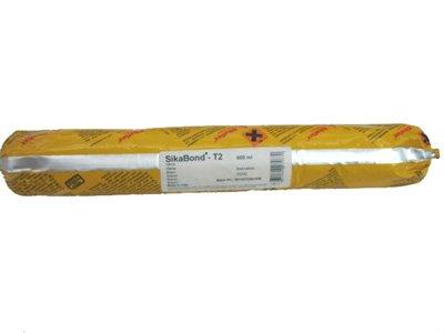 SIKABOND T2, selbstklebende flexible Polyurethan Leistungsfähigkeit der SIKA - Poche 600 ml, Weiß
